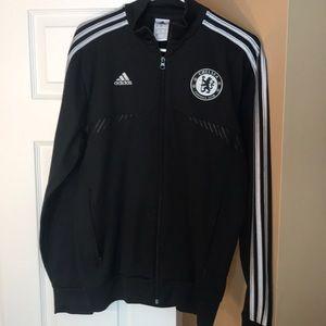 Men's adidas authentic Chelsea FC training jacket